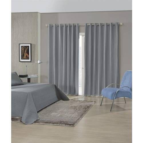 Foto 1 - Cortina Para Sala Quarto Oxford 300x250 Admirare Campo - ideas de cortinas para sala