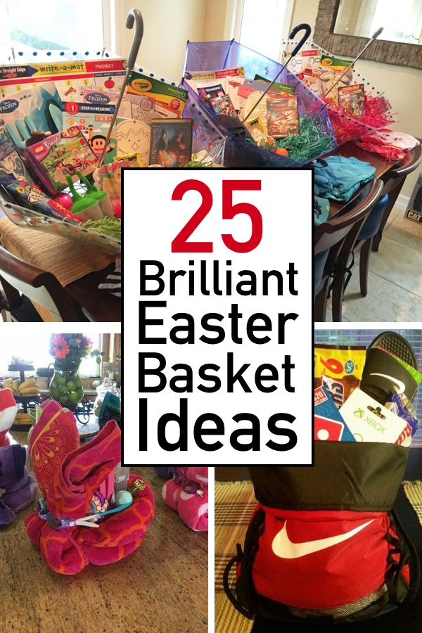 Photo of 25 Creative Easter Basket Ideas For Toddlers, Teens & Adults