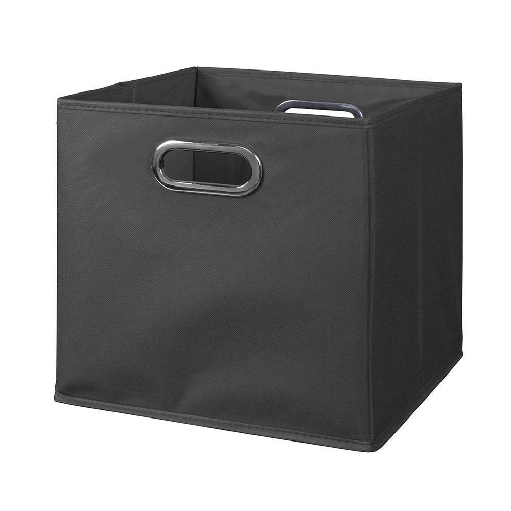 Niche Cubo 12 In X Grey Foldable Fabric Bin