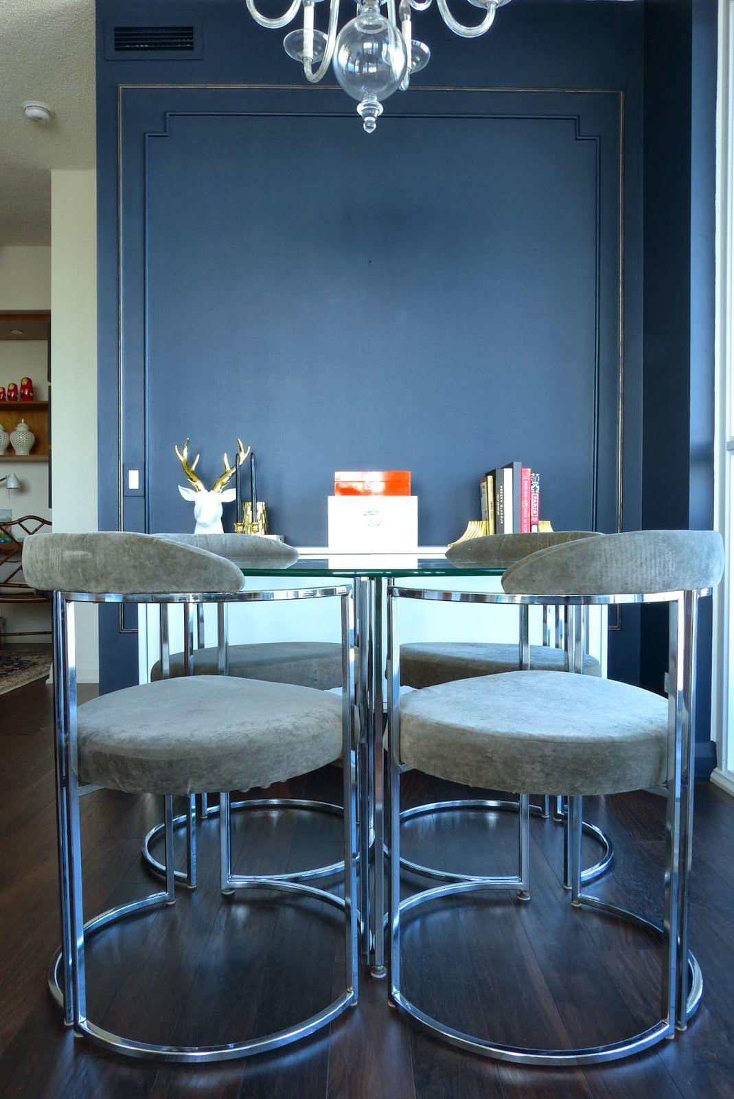 Cherish Toronto Dining Room Set Vintage 70 S Furniture Chrome