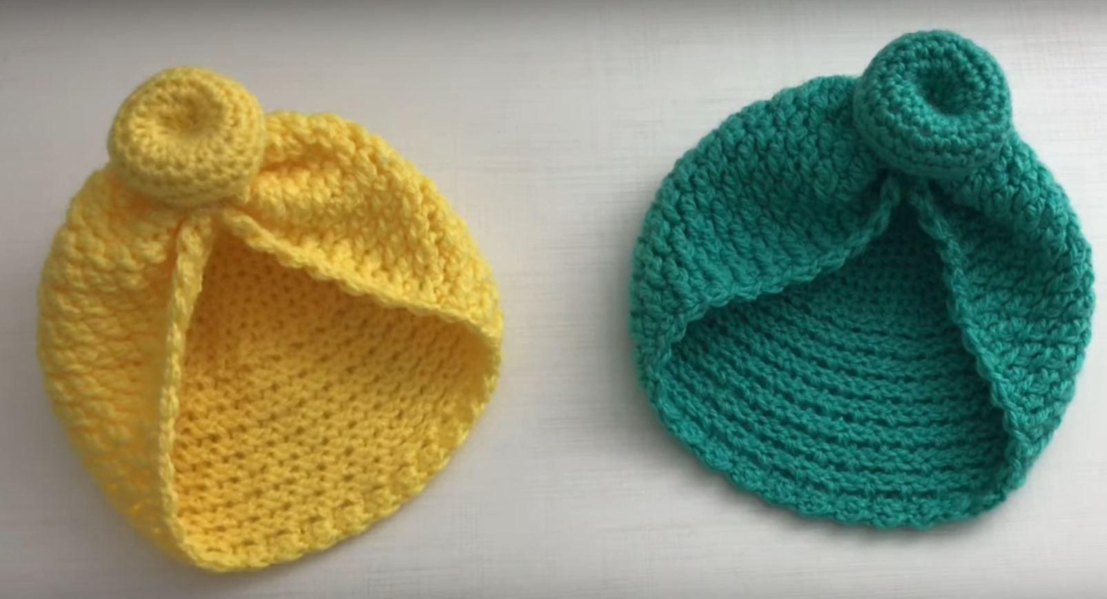 Photo of Crochet Stylish Baby Girl Hat – We Love Crochet