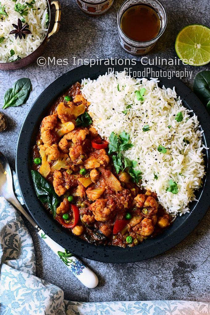 Recette curry de chou fleur au lait de coco | Le Blog cuisine de Samar