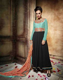 5d23bd0cb6 Women Ethnic Gowns: Buy Online Ladies Ethnic Gowns @Styletag ...