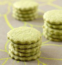 Sablés au thé vert matcha - Ôdélices : Recettes de cuisine faciles et originales !