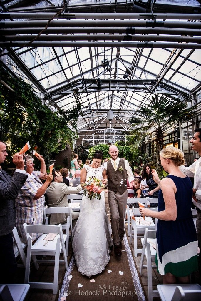 Frederik Meijer Gardens Grand Rapids Wedding