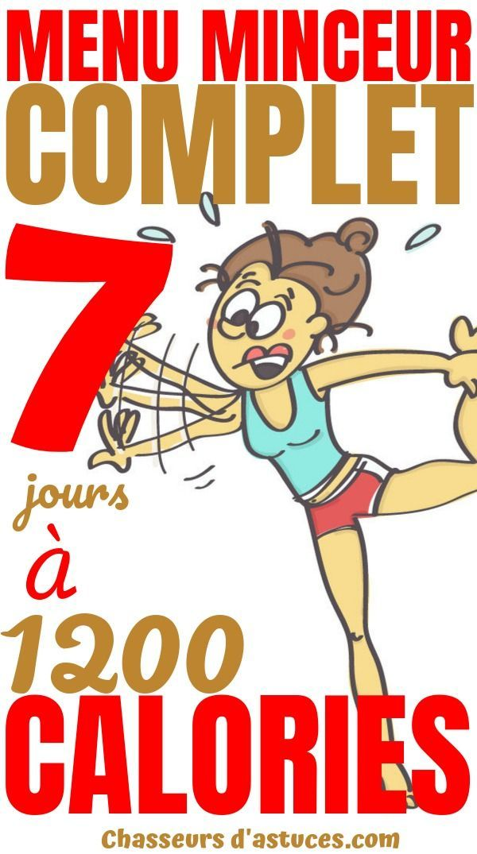 Régime Hypocalorique : 7 Jours À 1 200 Calories