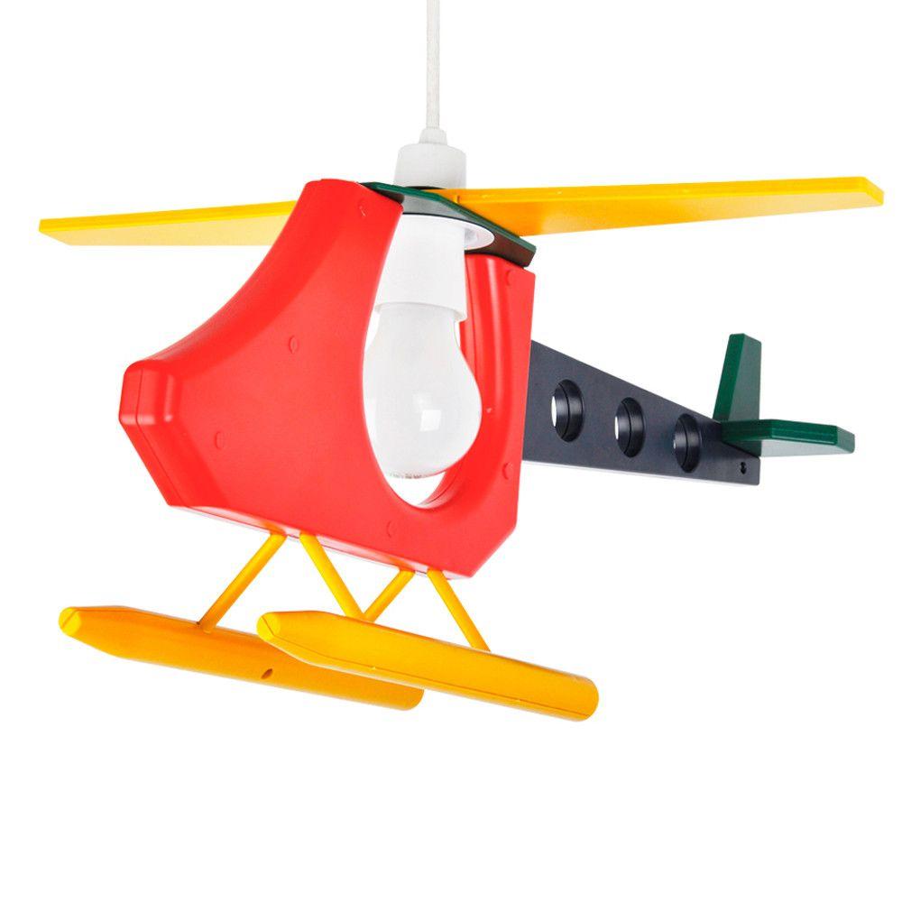 Childrens 3d Helicopter Pendant Shade Iconic Lights Aydinlatma Elemanlari Ahsap Isciligi Lamba