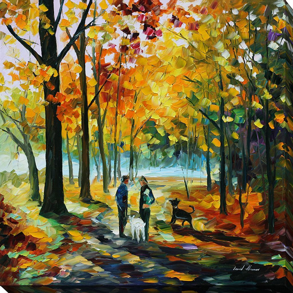 FramedArt.com Leonid Afremov \'Couples\' Giclee Print Wall Art ...