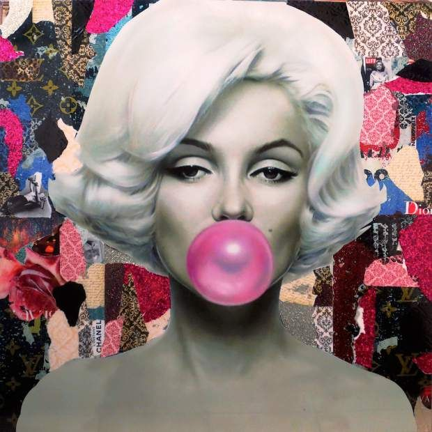 b62a49c684 marilyn monroe glitter pink bubble gum images - Google Search ...