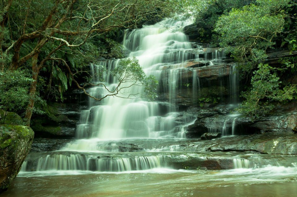 Somersby Falls. By Marilyn Harbrow Mckay.