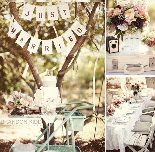 Vintage Style Wedding   Trendee Flowers Designs