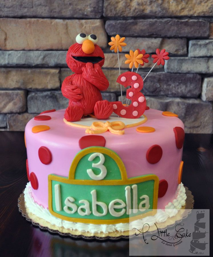 Super cute Elmo cake by Loris Sweet Cakes Fantabulous Cake
