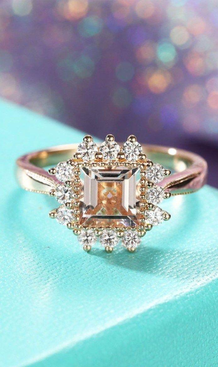 Antique and unique vintage engagement rings ideas antique