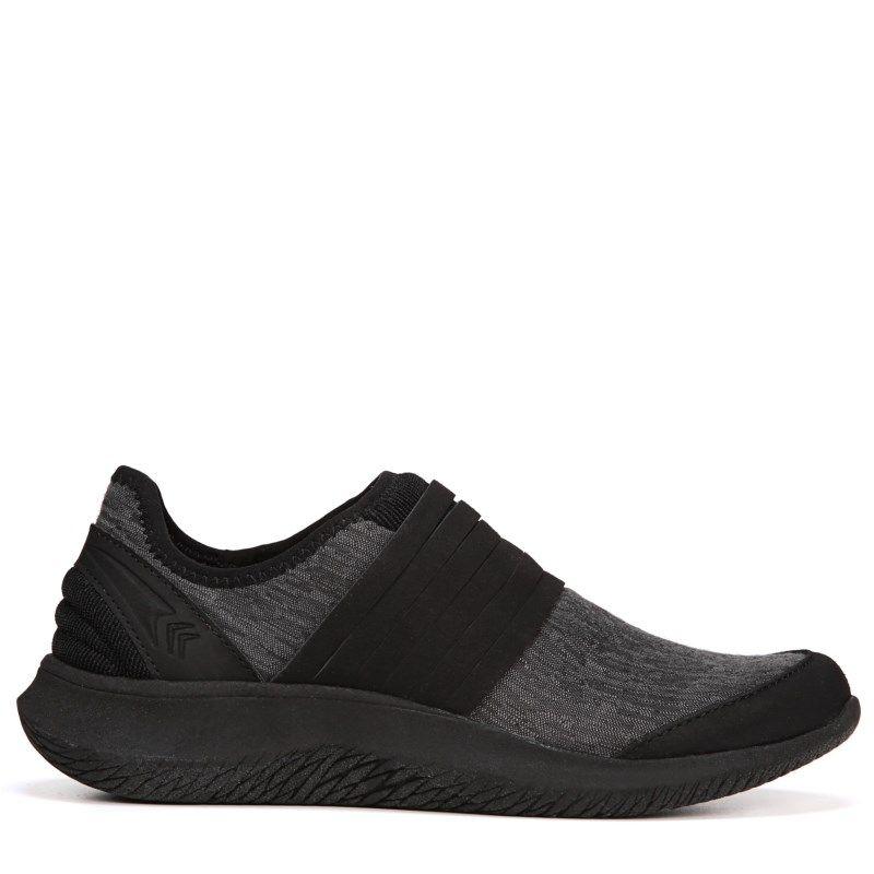Foxy Slip On Sneakers (Black Jacquard