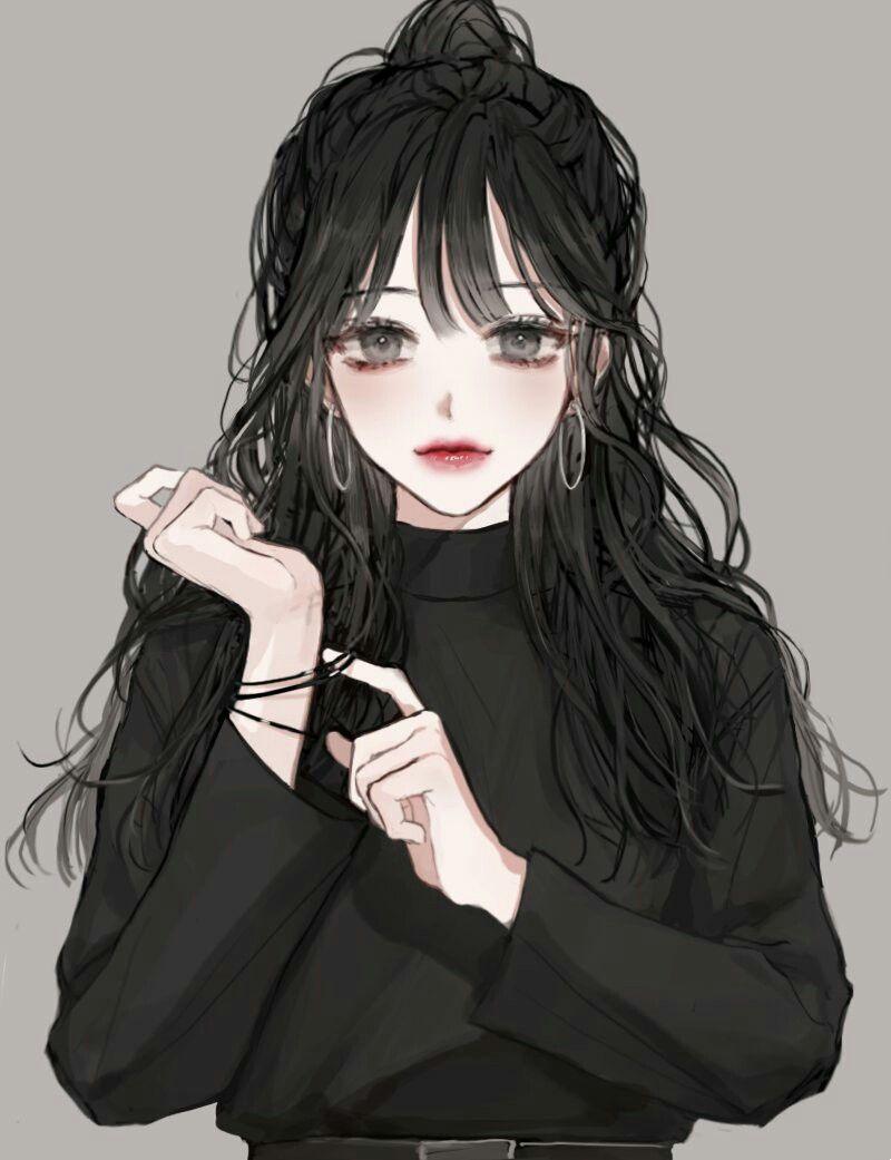 ဆ င ဟ မ န Anime Art Girl Manga Girl Drawing