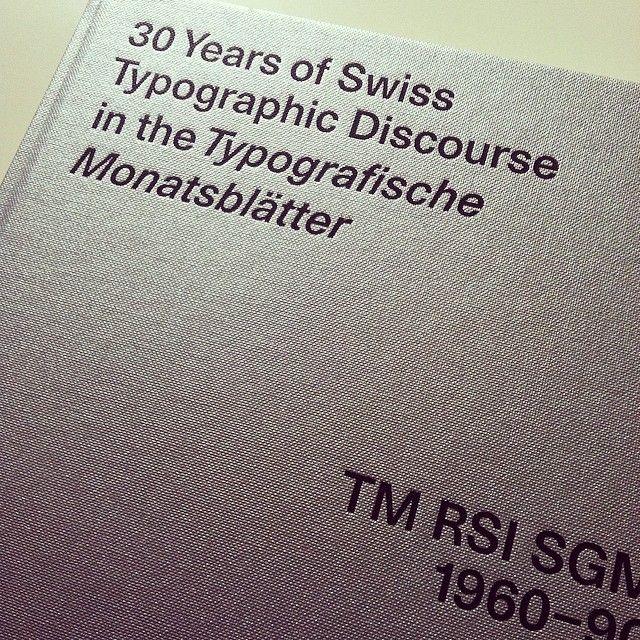 30 years of Swiss Typographic Discourse in the Typogragische Monatsblätter