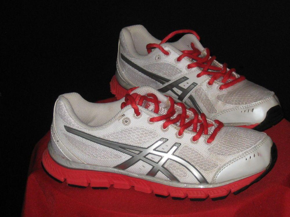 ac50b339be8c Women s Asics Gel-Flash Running Shoes Sz 7.5 Wht Lighting Poppy T2J5N-0191   ASICS  cheapshoes