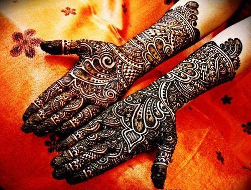Bridal Mehndi Gta : Latest bridal mehndi designs with images