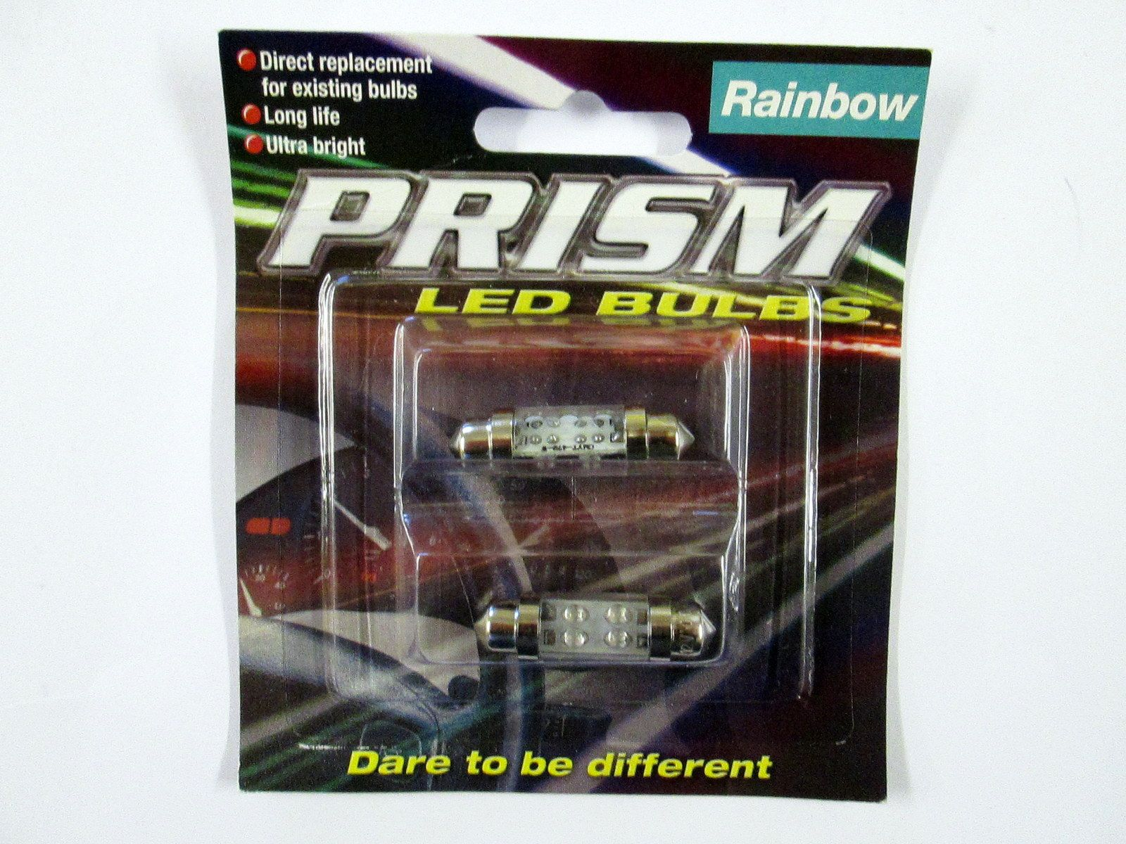 12v 11 X 38mm Led Multicolour Festoon Bulb Twin Pack 12 Volt Demolition Derby Car Wiring Diagram