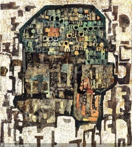 Architektúrák (Régi városok kapuja) sold by Kieselbach Galéria, Budapest, on Friday, May 23, 2008