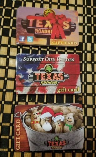 Gift Cards: $100 Texas Roadhouse Gift Card ***Unused*** Great Deal ...
