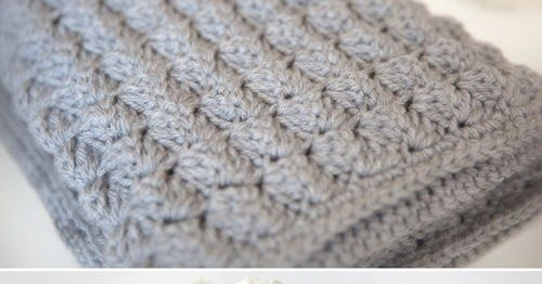 Cozy Free Baby Blanket This Crochet Pattern Tutorial Is