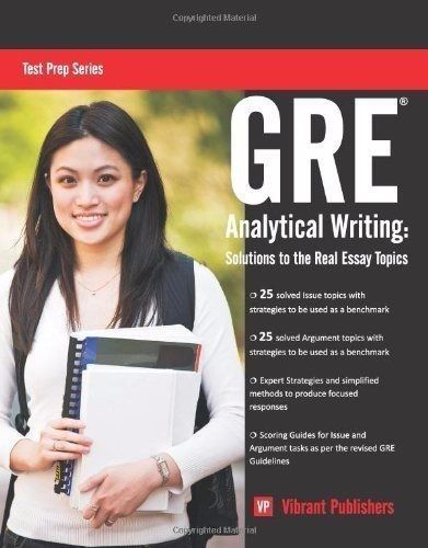 Gre Study Book >> Details About Gre Analytical Writing Solutions To The Real