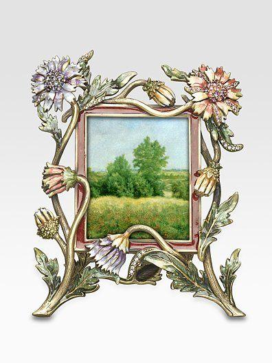 Jay Strongwater Chrysanthemum Frame   Art Nouveau   Pinterest ...