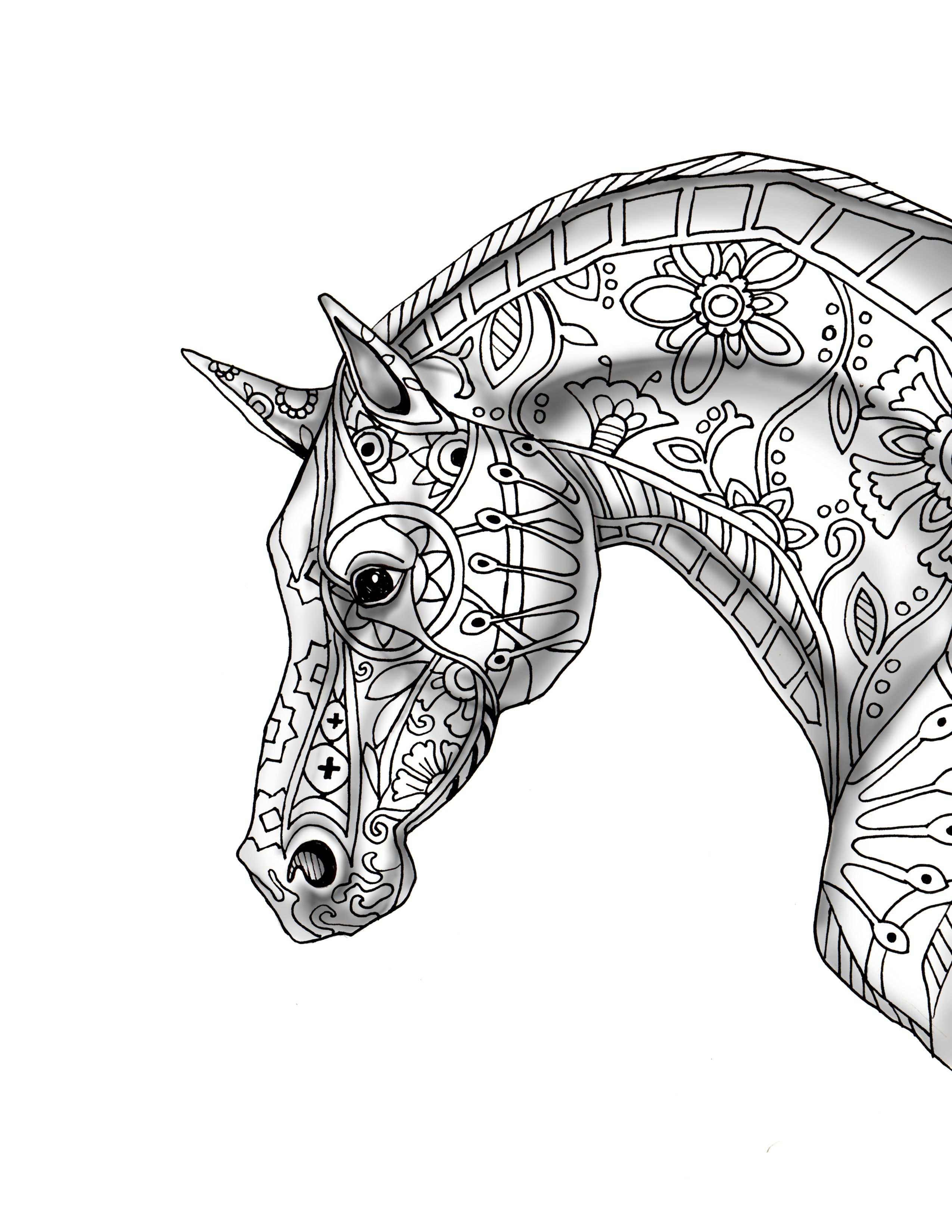 Download Horse Coloring Pages Horse Coloring Books Animal Coloring Pages