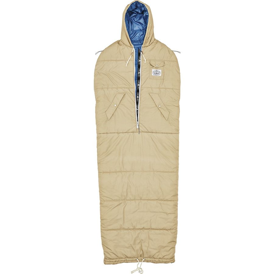 Nap Sack Wearable Sleeping Bag With Arm Holes Cinchable