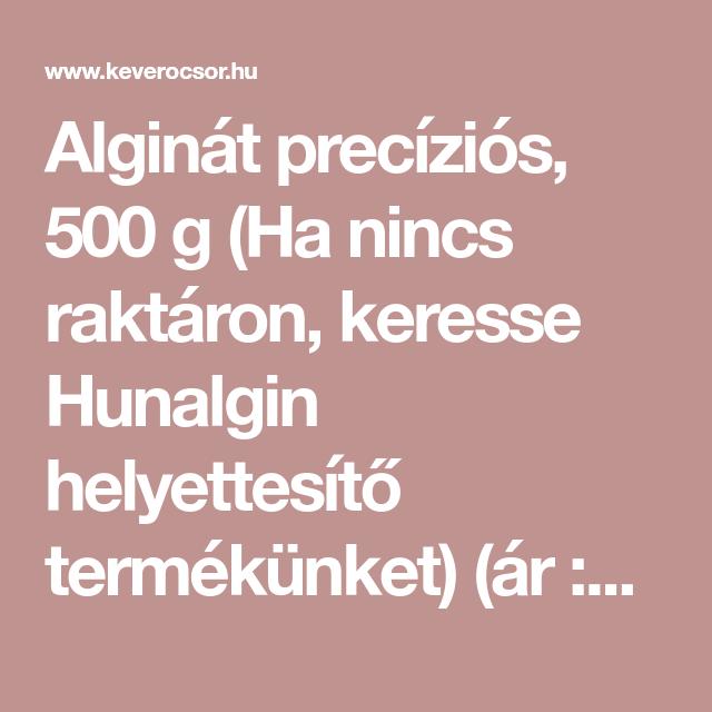 Alginát precíziós 03c469f6a9