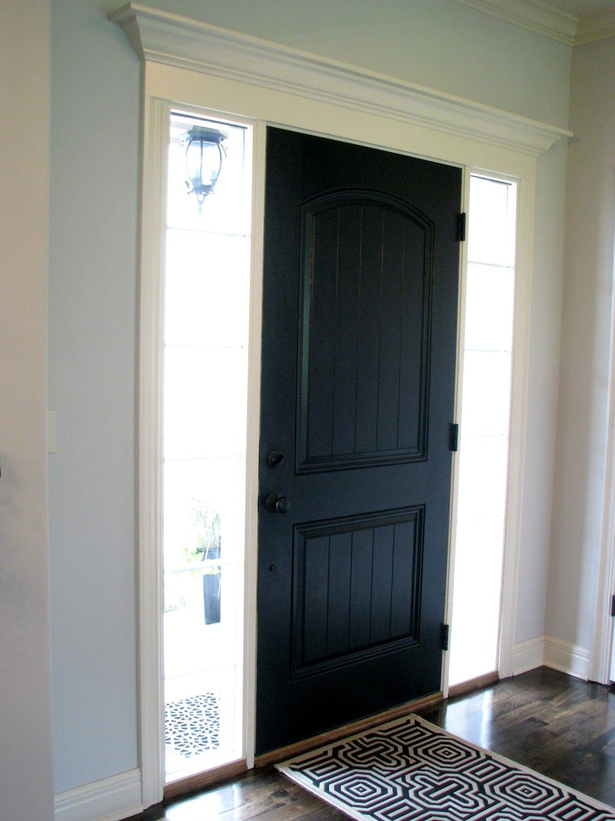 Home interior front black interior front door  for the home  pinterest  front doors