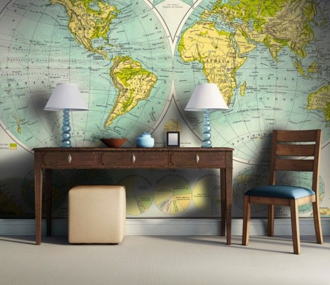 Map on your wall #interior