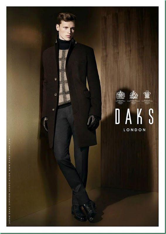 Lars Burmeister for Daks F/W 2013-14