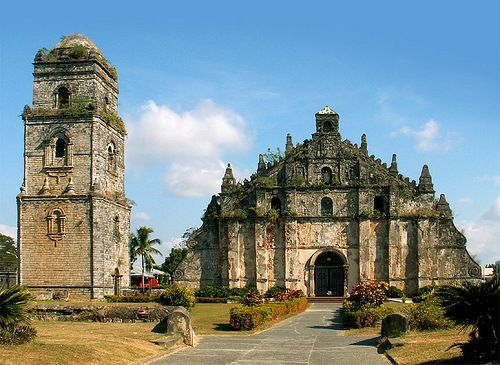 Famous Architecture Buildings In The Philippines visit the famous paoay church. | what is filipino architecture