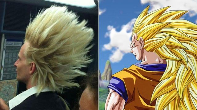 Dragonball Hair Is Even More Amazing In Real Life Dragon Ball Hair Amazing