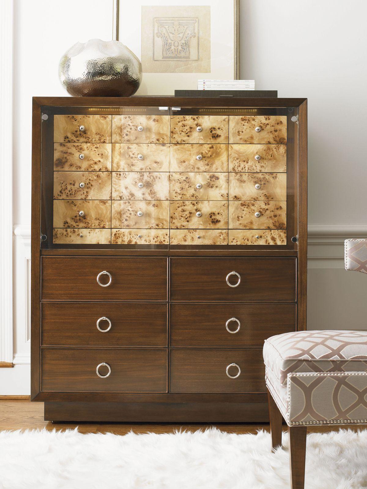 Mirage brando gentlemans chest lexington home brands furnishings