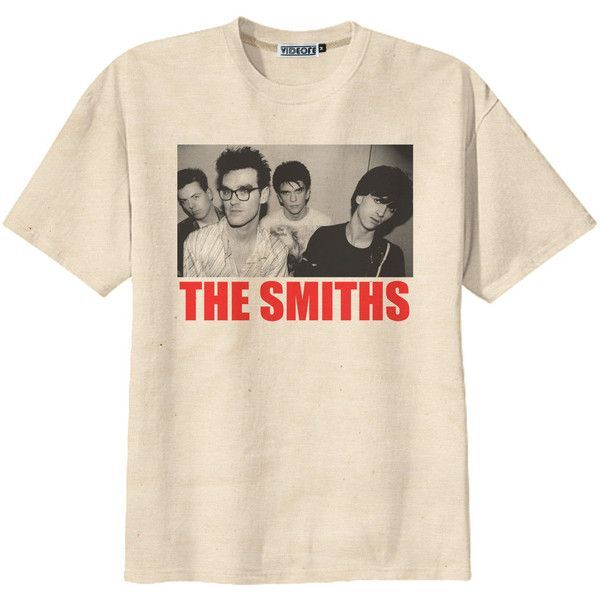 The Smiths Acid Washed T Shirt