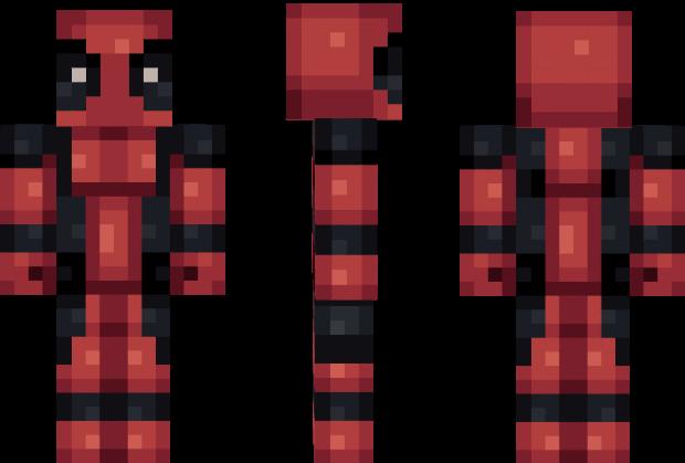 Deadpool Minecraft Skin Videogame Art Pinterest Minecraft - Deadpool skins fur minecraft