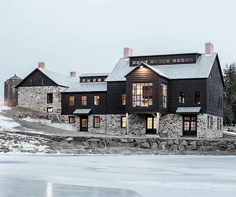 70s Home Exterior Remodel: 70 Stunning Farmhouse Exterior Design Ideas (47 In 2019