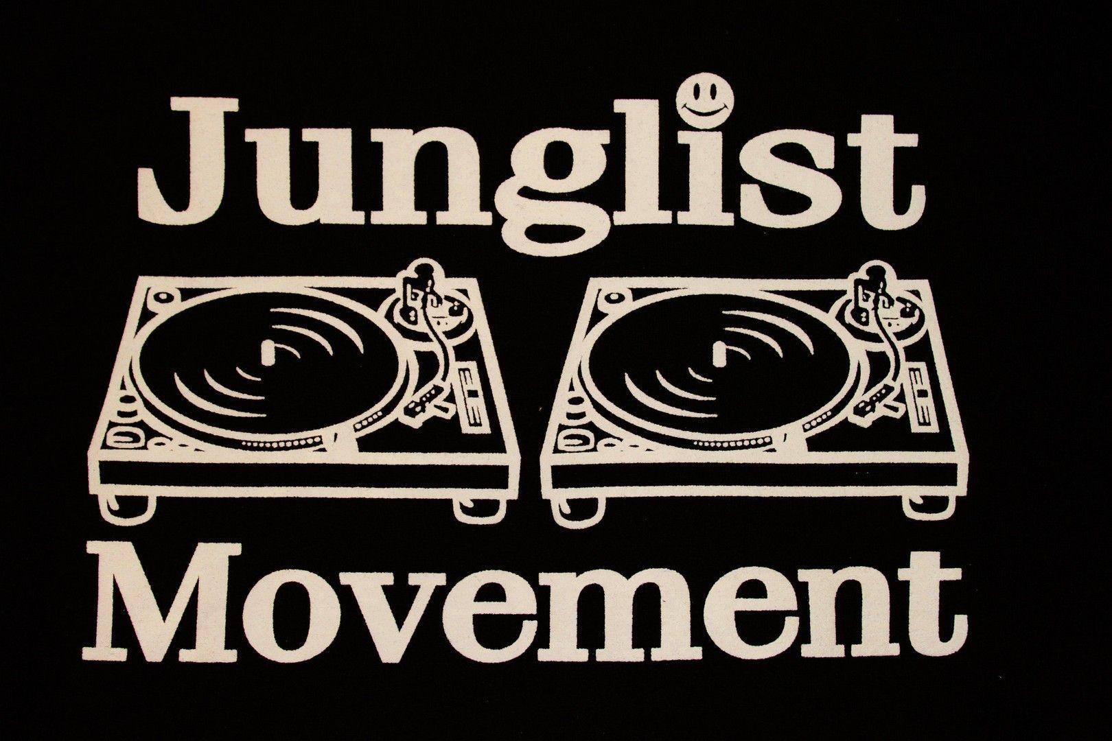 Junglist T-Shirt 100/% Music Homage Gift Club DJ Jungle Party