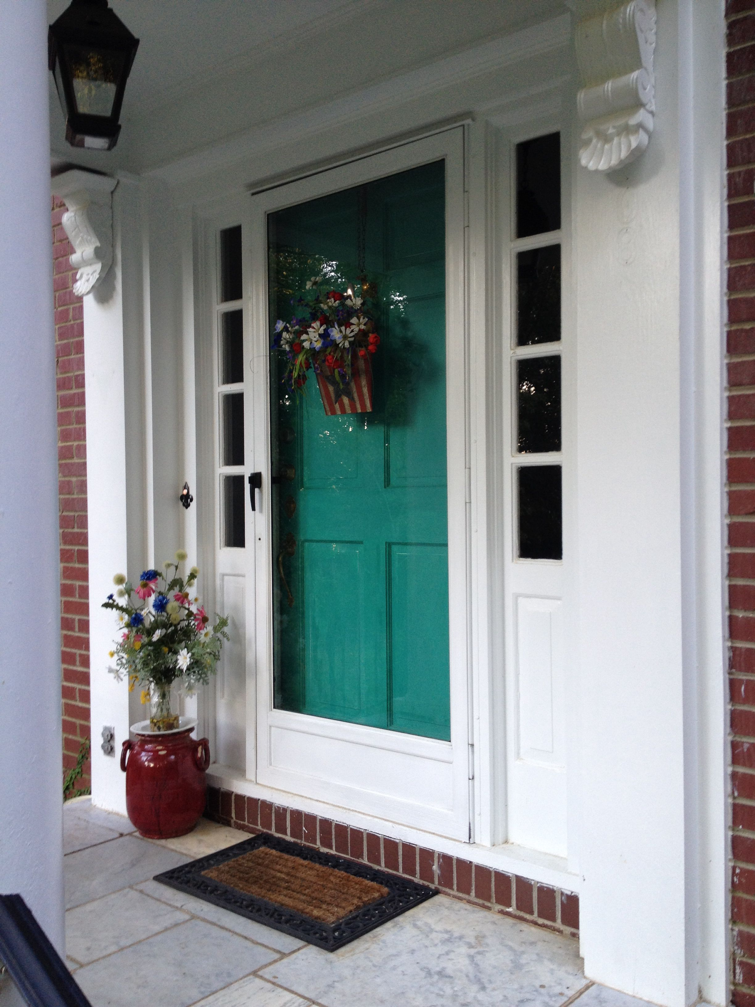Front Door Painted With Annie Sloan Chalk Paint Florence &