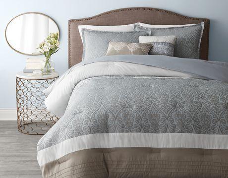 Hometrends Ravello Comforter Set Walmart Canada Comforter Sets