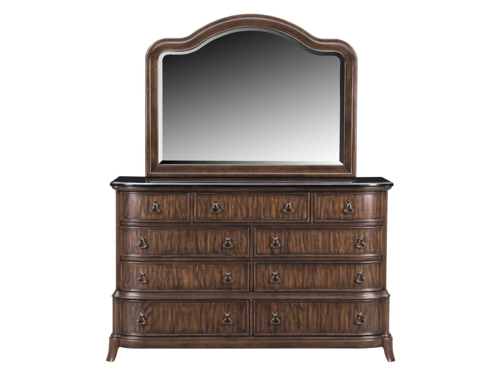 Kingston Bedroom Furniture Kingston Nutmeg Dresser Mirror Value City Furniture Bedroom