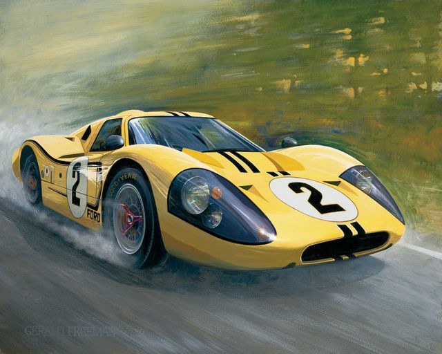 Le Mans Is Coming Ford Gt Ford Gt40 Classic Sports Cars