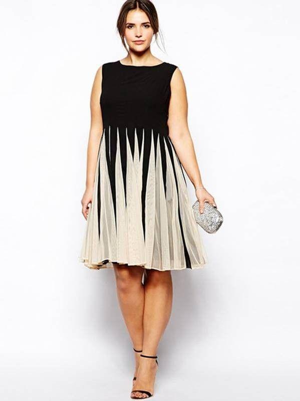 Vestido Rodado Plus Size - Compre Online | DMS Boutique | roupad ...