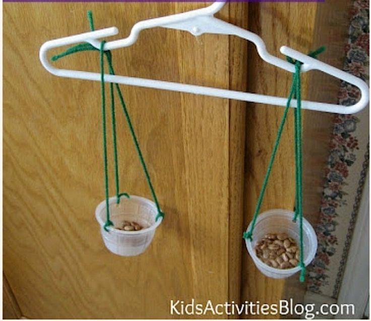 Experiments Instruments Measurement: Science For Kids: Make A Balance
