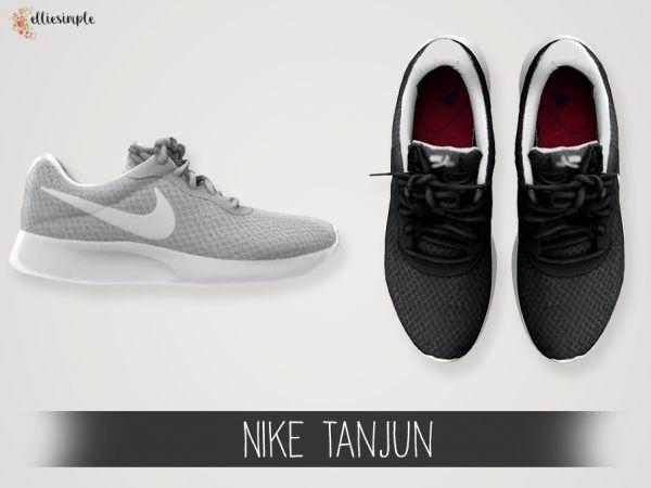 Die Sims 4 Elliesimple - Nike Tanjun #sportclothes