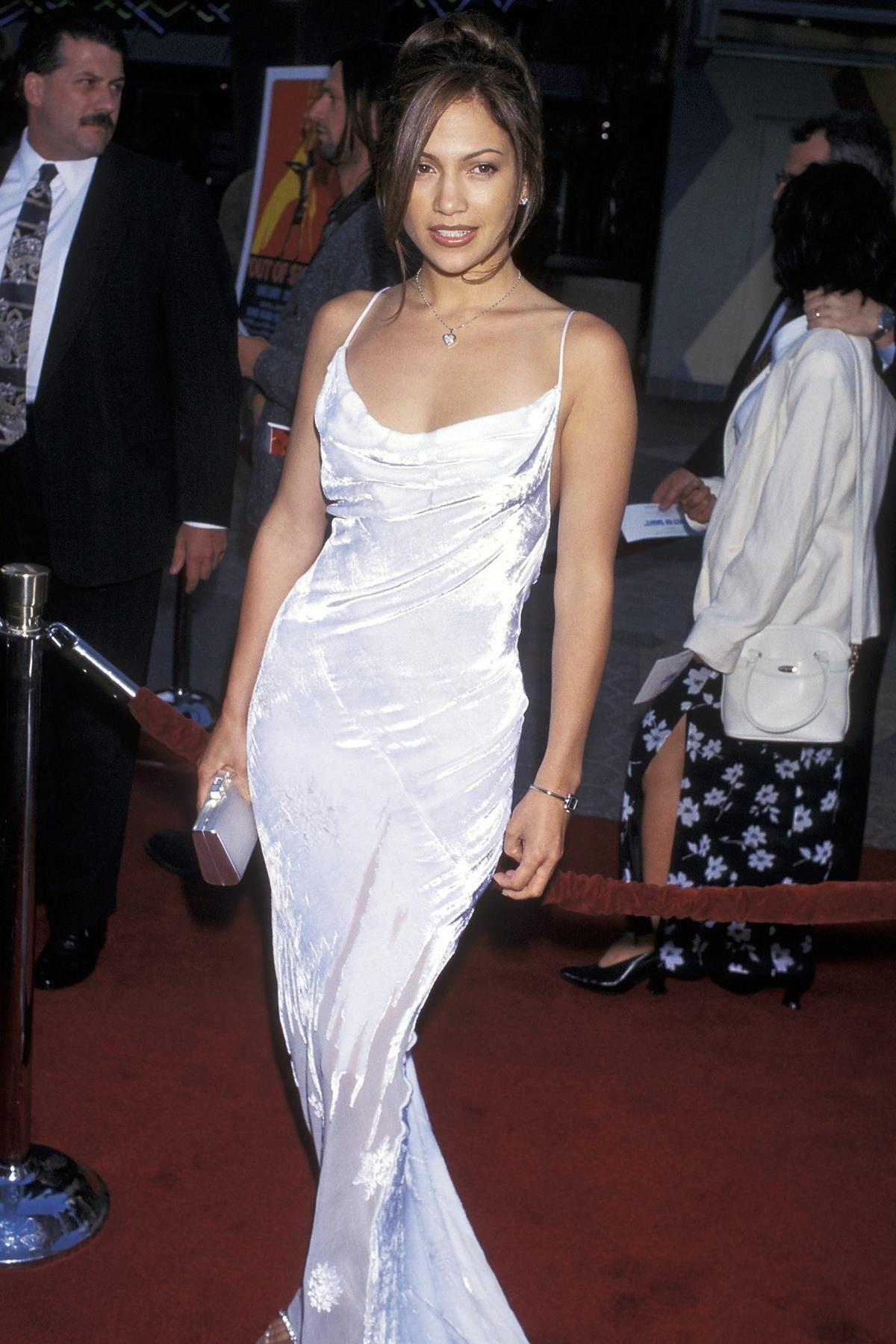 The Jennifer Lopez Look Book Jennifer Lopez Outfits Fashion Sparkly Jumpsuit [ 1800 x 1200 Pixel ]