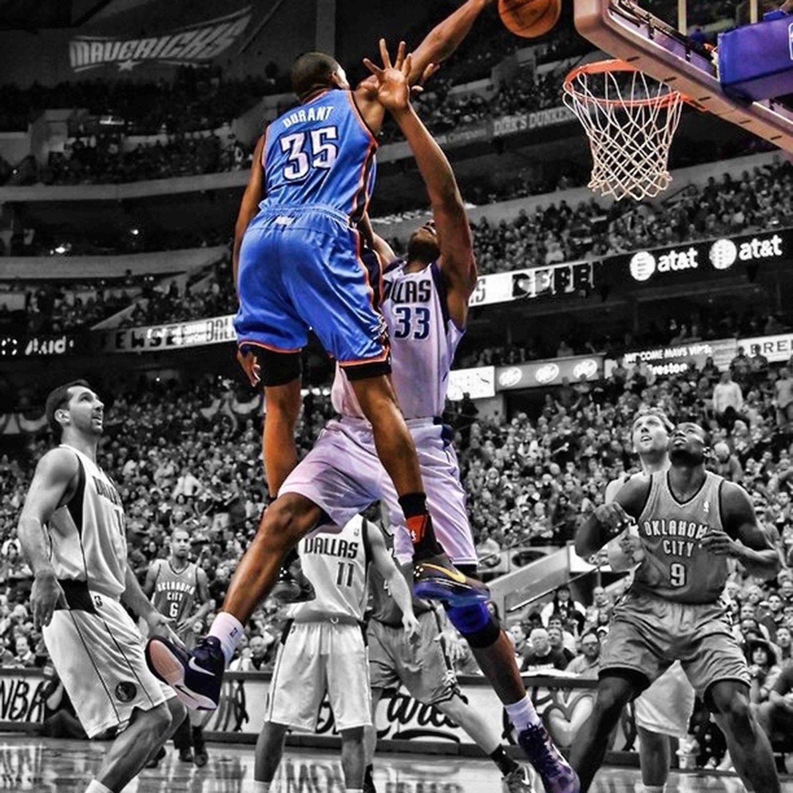 Oklahoma City Thunder poster wall decoration photo print 24x24 inches